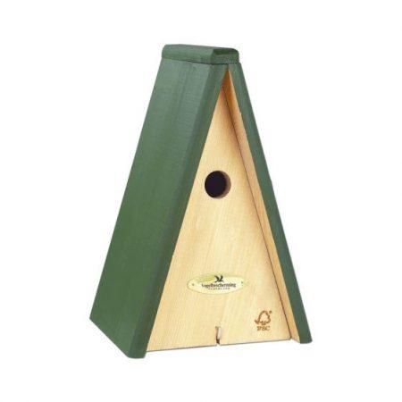 Nestkast vogelbescherming voor mezen